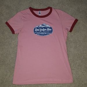 Red Lodge MT T-shirt size XL but fits like a M